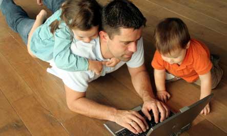 working-dad-kids