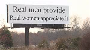 real men billboard